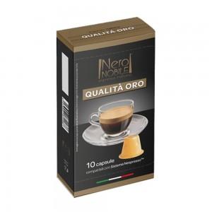 Coffee capsule Qualita'Oro 10 caps, Nespresso compatible