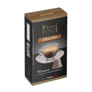 Coffee capsule Deciso 10 caps, Nespresso compatible