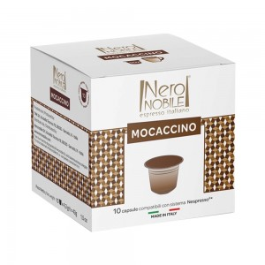 Mocaccino drink capsule 10 caps, Nespresso compatible