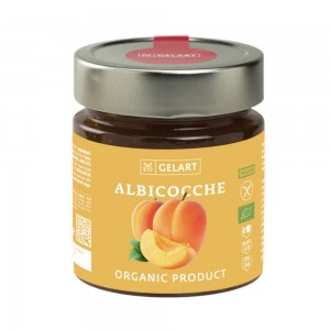 Biogelart Organic Apricot Jam 300g