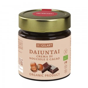 Biogelart Organic Hazelnut & Cocoa Cream 300g