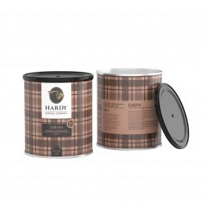 Hardy Ground Coffee Tin Europa 250g