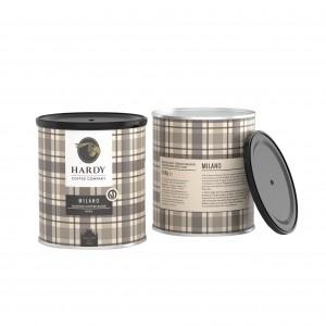 Hardy Ground Coffee Tin Milano 250g