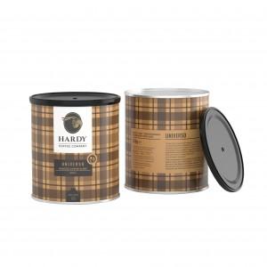 Hardy Ground Coffee Tin Universo 250g