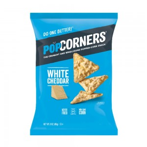 POPCORNERS White Cheddar Feel -Good - 85 grams