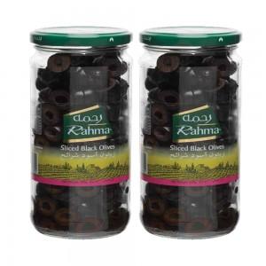 Rahma Olives Black Sliced 2x 430Gm