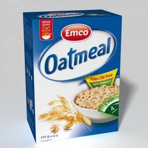 Emco Expres Oat Meal Natural 4X55 G