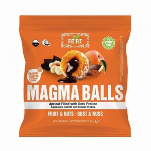 Fitfit Magmaballs Apricot W/D Praline, 48gm