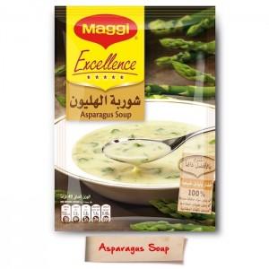 Maggi Excellence Asparagus Soup, 60 Pcs