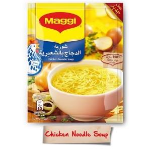 Maggi Chicken Noodle Soup 60g, 12 Pcs