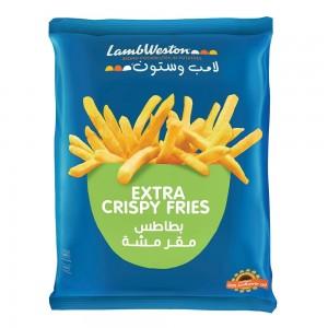 Lamb Weston Extra Crispy Fries 9mm, 750 gm
