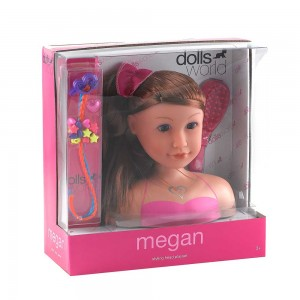 Dolls World Megan - Hair Styling Set - 2 Asst, 8730