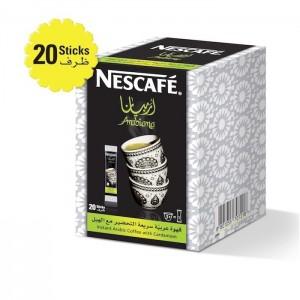 Nescafe Arabiana Instant Arabic Coffee With Cardamom 3g 20 Sticks, 20 Pcs