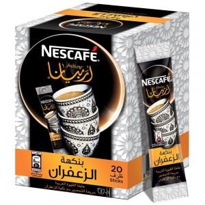 NESCAFE ARABIANA Instant Arabic Coffee with Saffron 3g (20 Sticks)