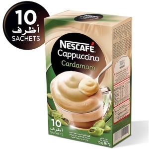 Nescafe Cardamom Instant Foaming Mix 18.7g, 10 Pcs