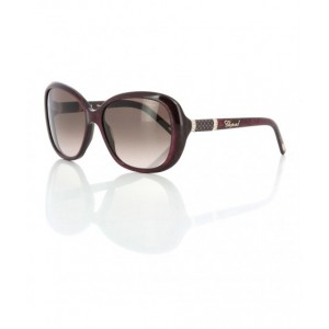 Chopard Sunglass For Women Sch149S 09E7 (Bordeaux Pearled/Red)