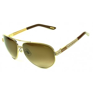 Chopard Sunglass For Women Schb24S 0R26 (Shiny Rose Gold)