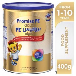 WYETH NUTRITION PROMISE PE (Picky Eater) GOLD, 1-10 Years Premium Milk Powder for Kids 400g