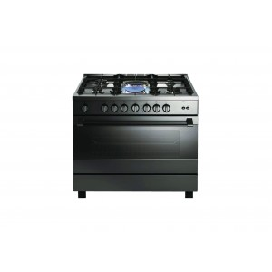 Bompani 90X60 Cm Gas & Electric Cooker - 4 Gas Burners & 2 Electric Hot Plate, 90074B2EIX/BO683MH