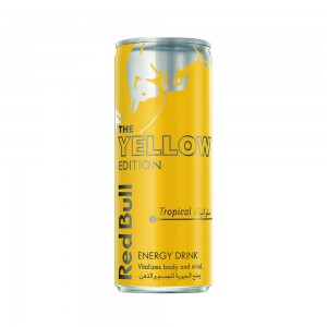Red Bull Energy Drink, Tropical, Yellow Edition, 250ml