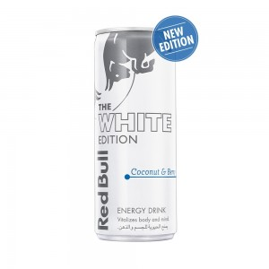 Red BULL Energy Drink, Coconut Berries, White Edition, 250ml