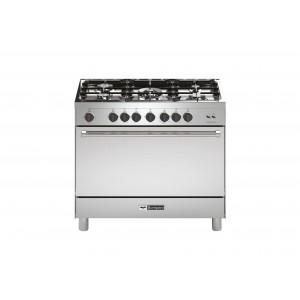 Bompani 90X60 Cm 5 Gas Burner Gas Cooker, 90GG5TCIX/BO693DC