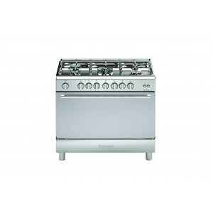 Bompani 90X60 Cm 5 Gas Burners Gas Cooker, 90GG5TCIXFAN/BO693MS