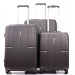 "Para John 3 Pcs Abs Trolley Bag 3070 Set 20"",24"",28"""