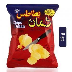 Oman Chili Flavor Potato Chips - 15 g