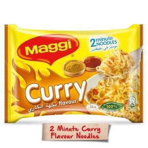 Maggi 2 Minutes Noodles Curry, 5 Pcs