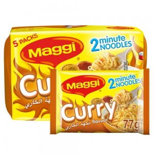 Maggi 2 Minutes Noodles Curry, 79g x 5
