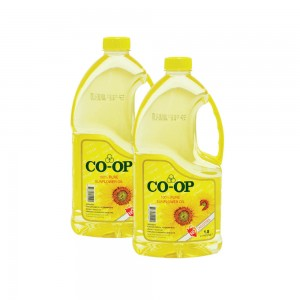 CO-OP Sunflower Oil 2x1.8Ltr