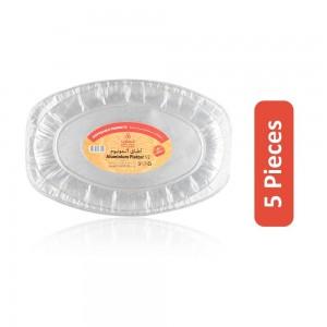 CO-OP Disposable Aluminum Platter V2 - 5 Pieces