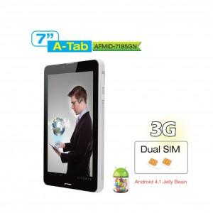 """Aftron 7"""" Tablet W/Dual Camera, AFMID7185GN"""