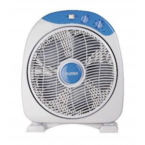 "Alonsa 12"" Box Fan, AL-115 BF"