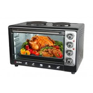 Aardee 60L oven toaster with rotisserie, Convection and with hotplates, ARO-60RCHP