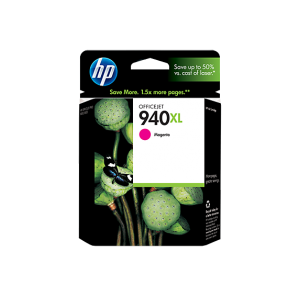HP 940XL High Yield Magenta Original Ink Cartridge (C4908AE)