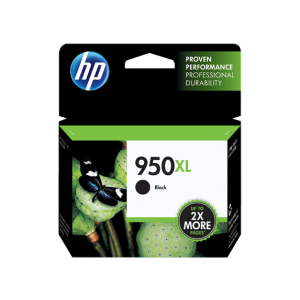 HP 950XL High Yield Black Original Ink Cartridge (CN045AE-BGX)