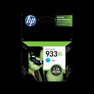 HP 933XL High Yield Cyan Original Ink Cartridge (CN055AE-BGX)