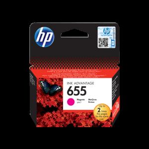 HP 655 Magenta Original Ink Advantage Cartridge (CZ111AE)