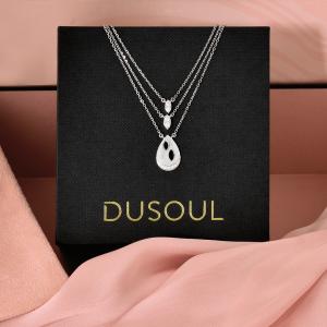 18 carat gold pendant & diamond pendant