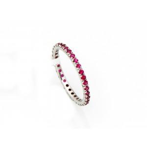 18 carat gold & ruby ring