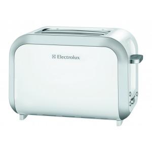 Electrolux Automatic 2 Slice Toaster, 870W - White, EAT3130