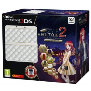New Nintendo 3DS Console + Style Boutique 2 + Faceplate