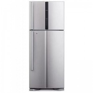 Hitachi Refrigerator Big 2 Inverter, RV540PUK3KSLS/PWH, silver, 540 L