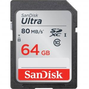 SanDisk 64GB SDXC UHS-I Memory Card