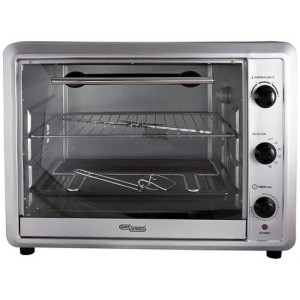Super General 60 Liters Electric Oven, Silver SGE O064KRC