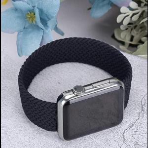 FITIT Brand Woven Single Loop 40mm Black Medium (Apple watch series 6/5/4/3/2/1/SE/Nike)