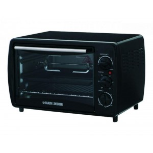 Black & Decker 19L Microwave Oven - Black, TRO2000R-B5