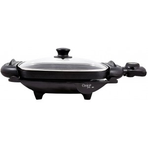 Emjoi 2-in-1 Electrical Grill & Griddle (Glass Lid) - UEG-190